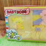FREE KARTU UCAPAN Paket Cantik Kado Bayi Perempuan Baru Lahir 0-6bulan Setelan Baby Girl + Turban Warna Random