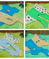 Paket Hemat Setelan jumper carter bayi plus legging cotton rich 0-12bulan (2)