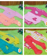 Paket Hemat Setelan kaos jumper carter panjang bayi plus legging cotton rich 0-9bulan (3)