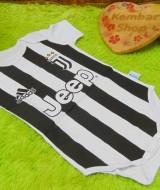 jumper bola bayi anak Jumper baby newborn 0-12bulan klub Juve Juventus