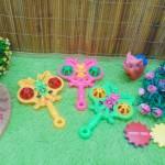 FREE BUBBLE WRAP kado icik-icik rattle krincingan kupu sayap ganda mainan bayi baby toys warna random