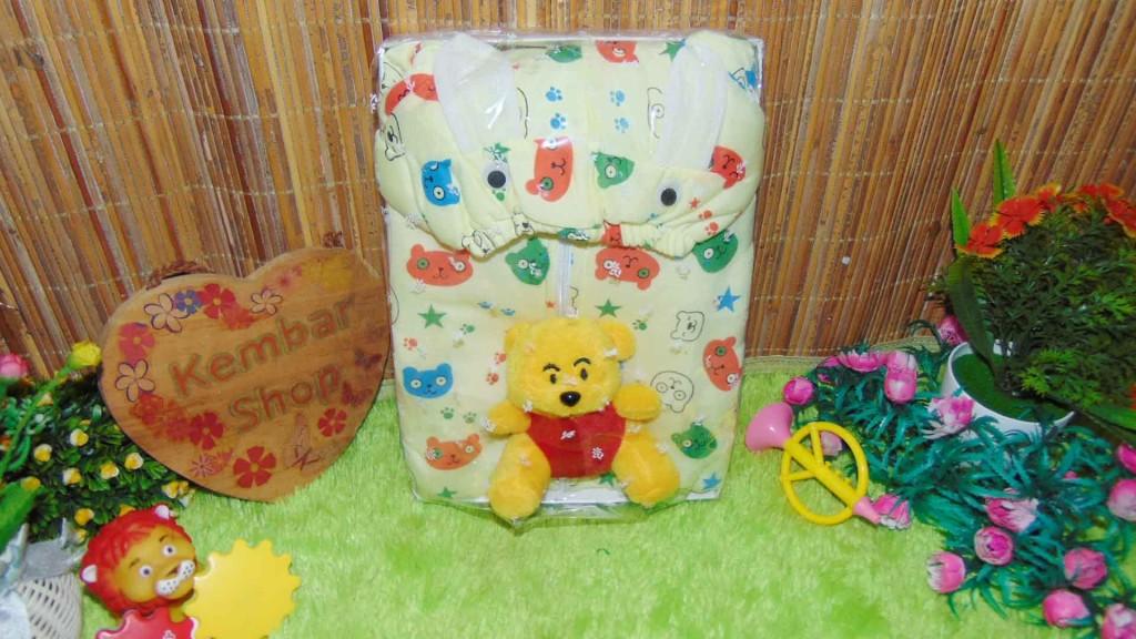 FREE KARTU UCAPAN paket kado lahiran bayi baby gift set box jaket plus boneka motif Baby Bear Beruang Aneka warna (1)