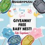 hadiah gratis baby nest