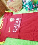 Romper Bayi Baju Bola Bayi Jersey Baby 0-12bulan AS Roma