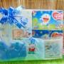 Hampers Baby Gift Kado Lahiran Bayi Newborn Diapers Cotton Buds FREE UCAPAN (2)