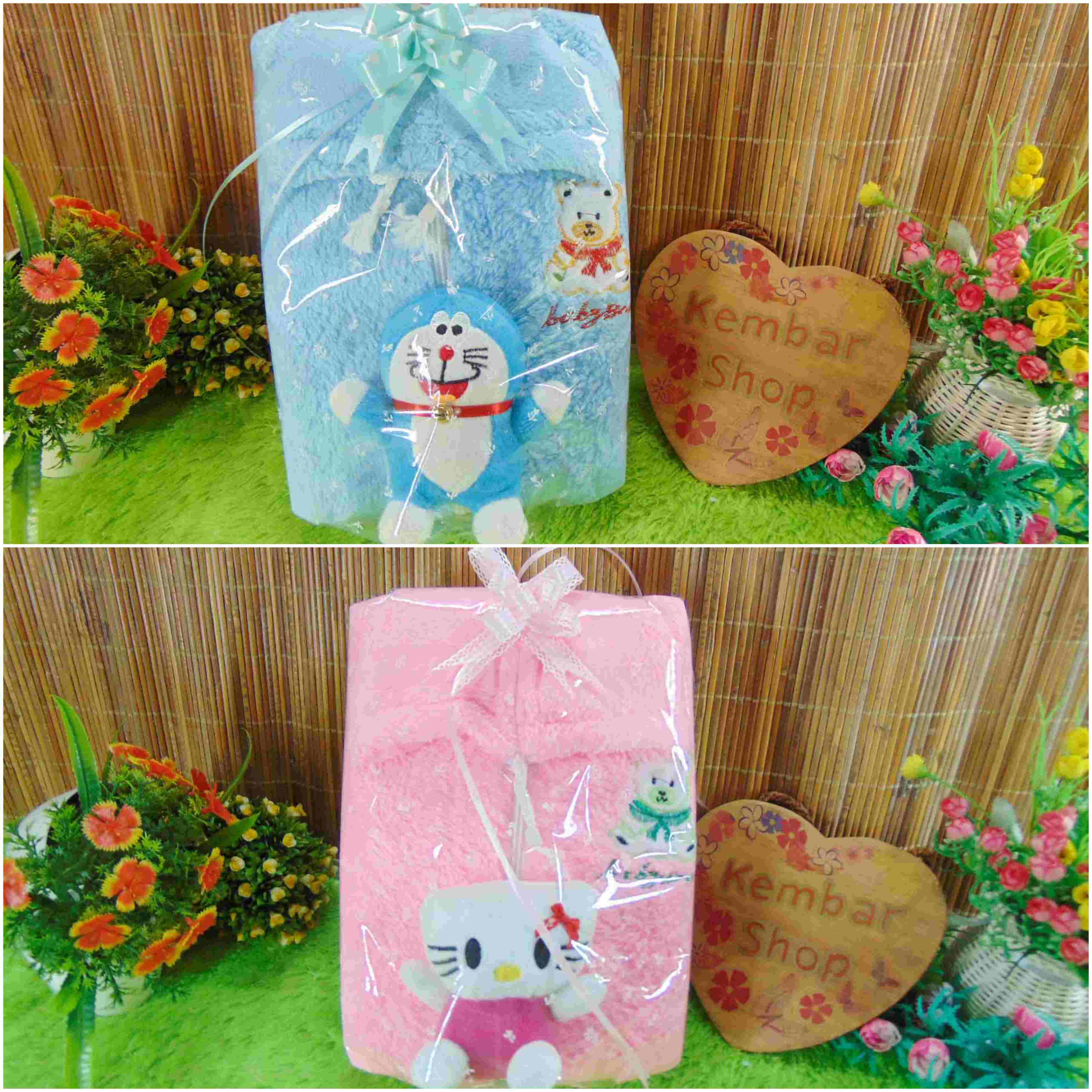 paket kado lahiran bayi baby gift set box jaket plus boneka (3)