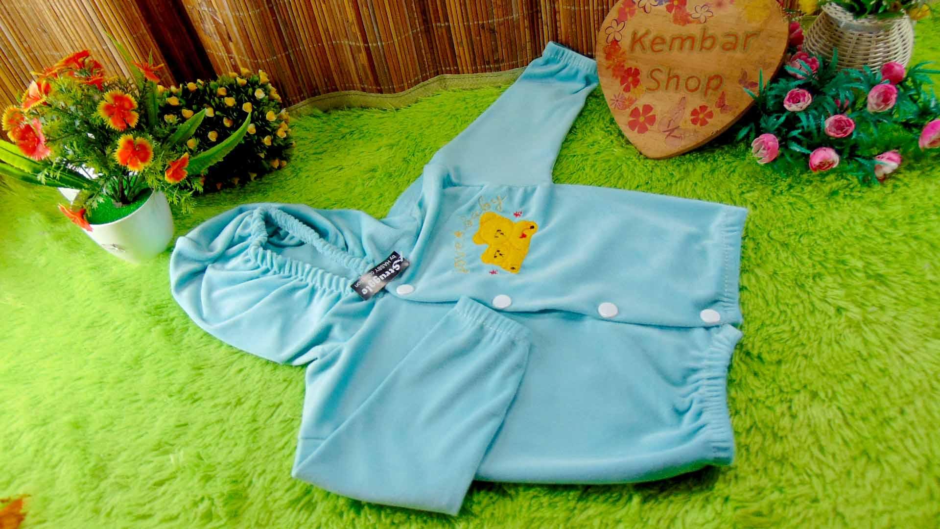 Baju Jaket Bayi Newborn 0-12bulan beludru Hangat Murah