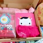 [FREE SAMPUL KADO] Hampers Kado Lahiran Bayi Newborn Exclusive Baby Gift Jumper Legging Cottonrich Headband Kaos Kaki FREE UCAPAN