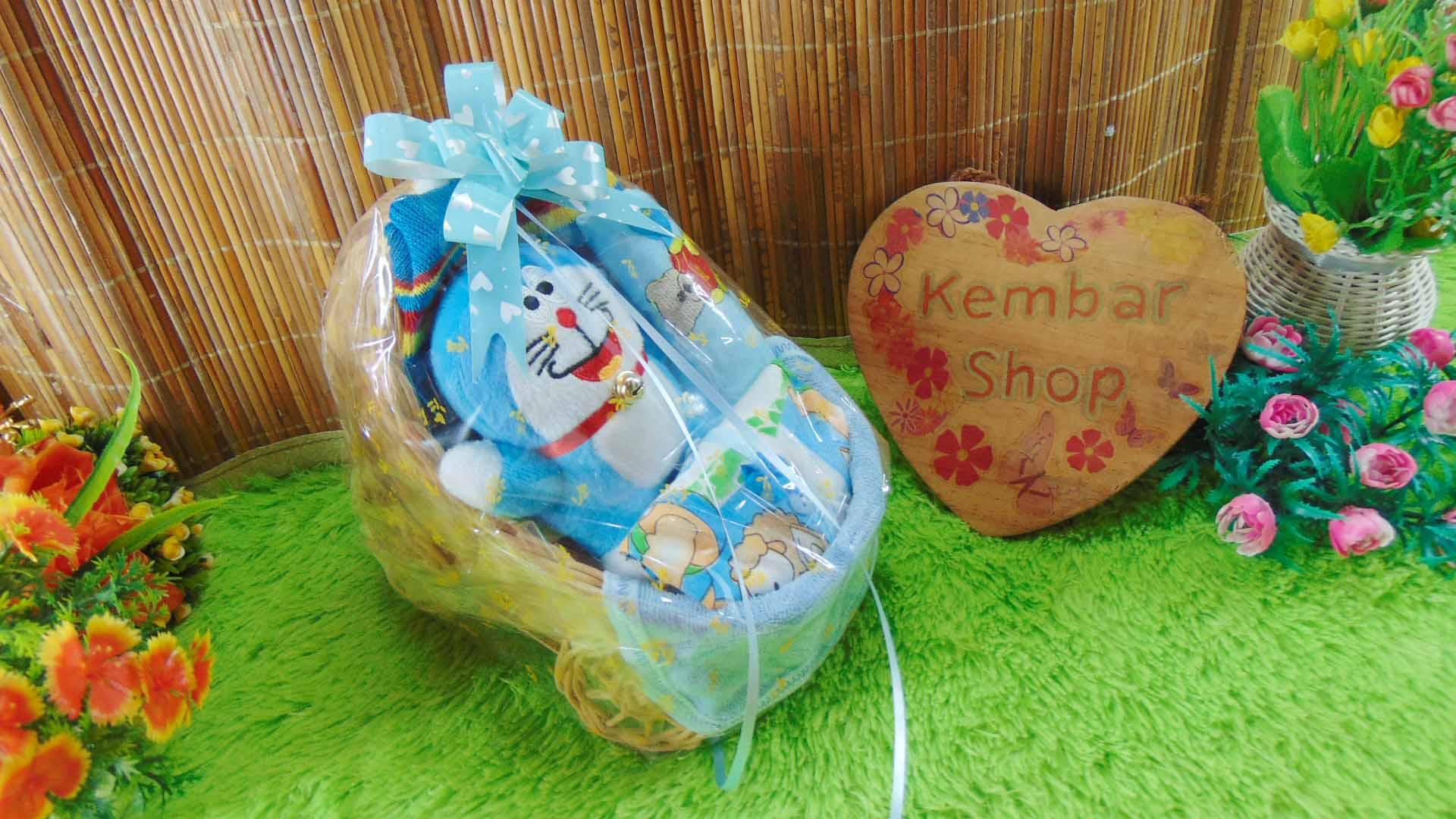 paket Tilik Bayi Hampers baby gift parcel bayi parcel kado lahiran Stroller Doraemon Pooh Hello Kitty (3)