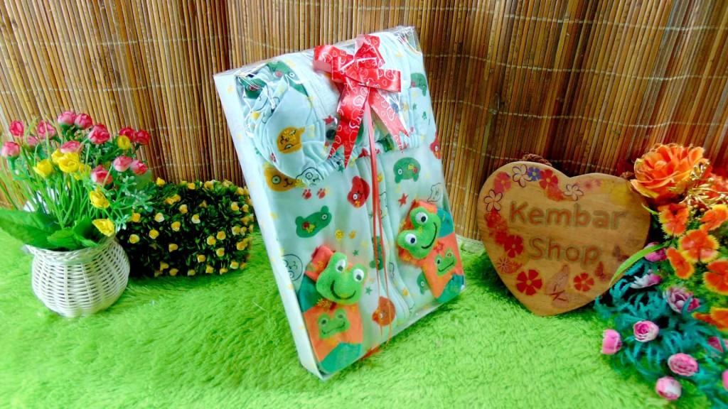 15 FREE KARTU UCAPAN paket kado lahiran bayi baby gift set box jaket plus sock ANEKA motif
