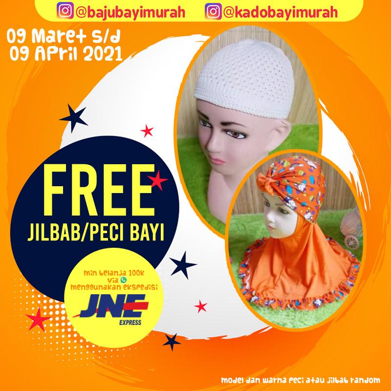 FREE PECI JILBAB BAJUBAYIMURAH copy