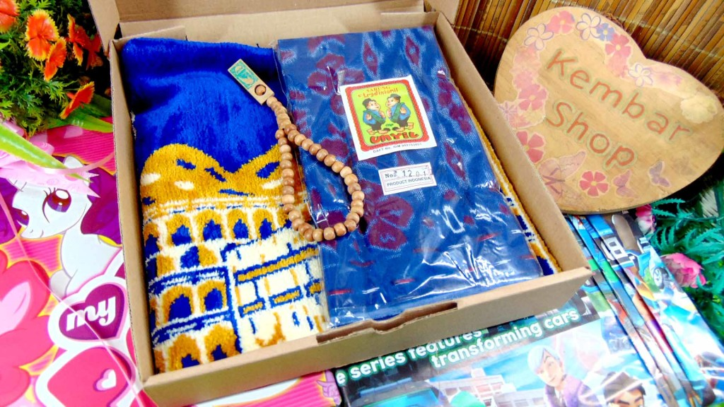 [LIMITED!] Hampers Sholeh Baby Gift Kado ulang Tahun Anak Paket Lebaran Idul Fitri Ramadhan Sarung Sajadah Tasbih