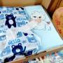[LIMITED!] Hampers Baby Gift Kado lahiran bayi Newborn Selimut double fleece dan Handuk Bordir FREE KARTU UCAPAN DAN KERTAS KADO (3)