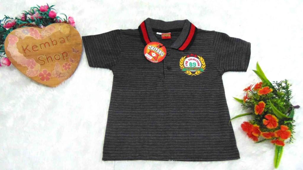 4 Kaos Krah Baju anak laki-laki pakaian anak cowok baju atasan anak 3-6th