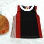 9 Kaos Salur bayi Tshirt Kaos Oblong Anak Kaos Harian Motif Salur Garis-Garis 0-12bulan
