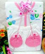 PAKET G Hampers Bayi Newborn Kado Bayi Kado Setelan Bayi Piyama Bayi Kado Lahiran Baby Gift Set Baju Bayi Perempuan 3