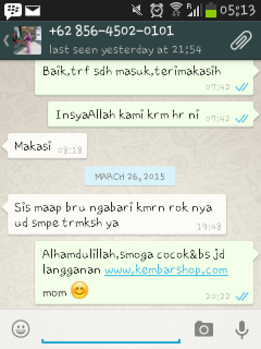 supplier handuk kartun murah - testimoni customer